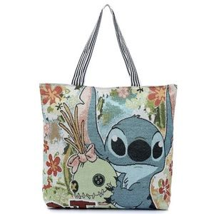 💙 BRAND NEW Canvas Stitch Tote Bag 💙